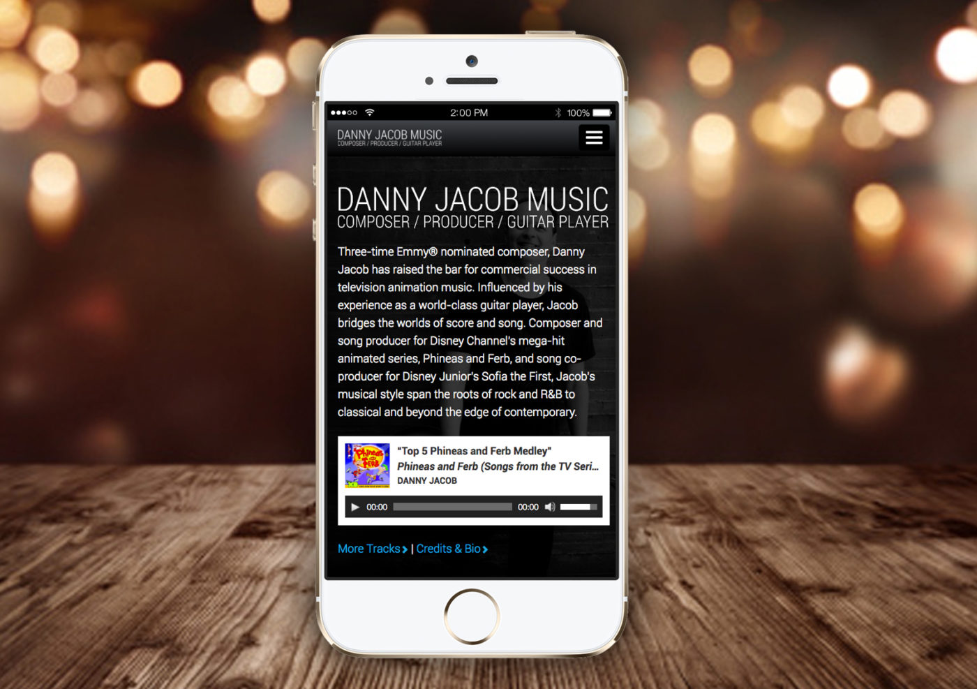Danny Jacob | Music Website