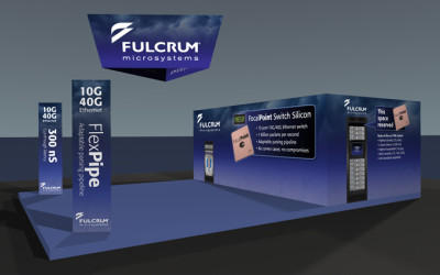 3D Design of Trade Show Booth
