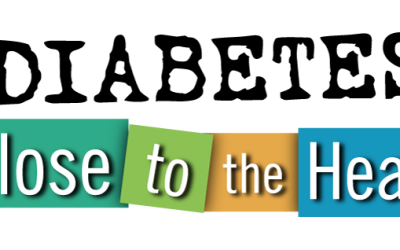Logo Design: Diabetes: Close to the Heart