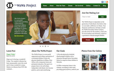 WaWa Project Website