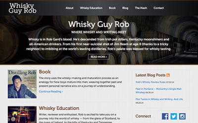 Whisky Guy Rob Website