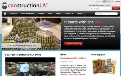 Canstruction LA Website