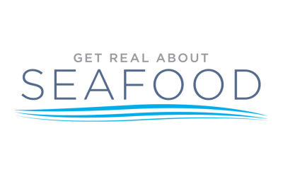 """""""Get Real About Seafood"""" Logo Design"""