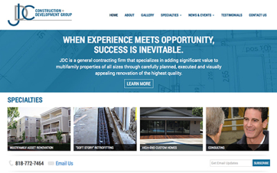 JDC Group Website